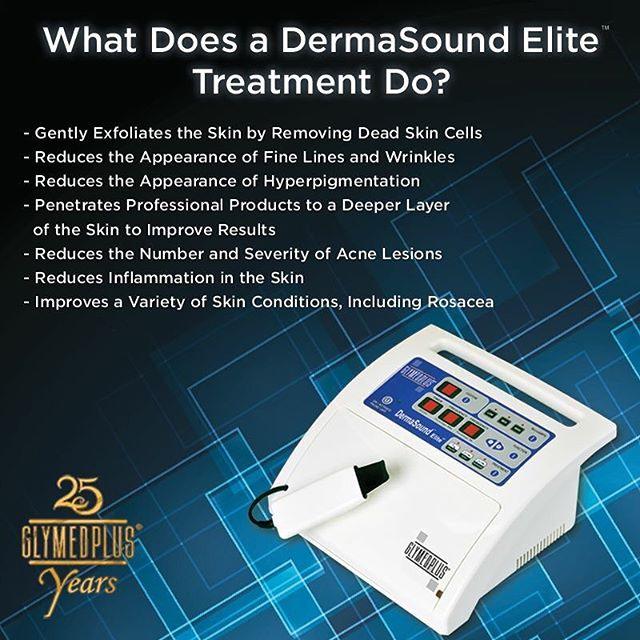 Image showing what a DermaSound Treatment can do from Brilliant Bodywork.